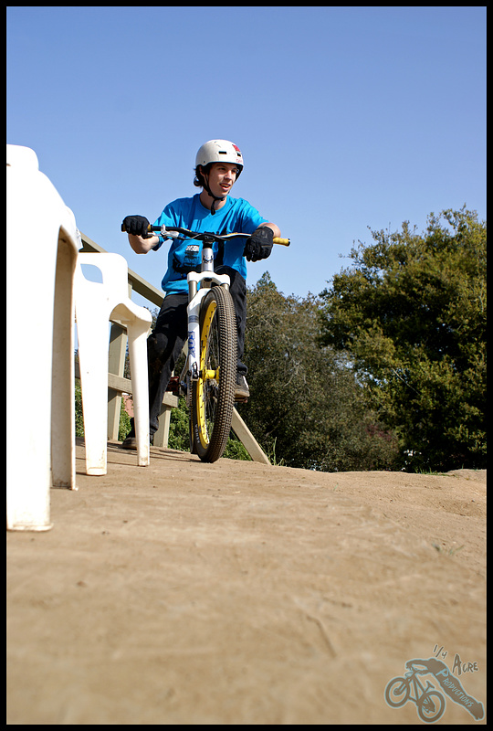 Jack is a very  fun guy and he is always smiling when he is riding
