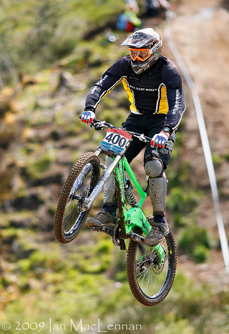 Alastair Maclennan 2009 Downhill Champion