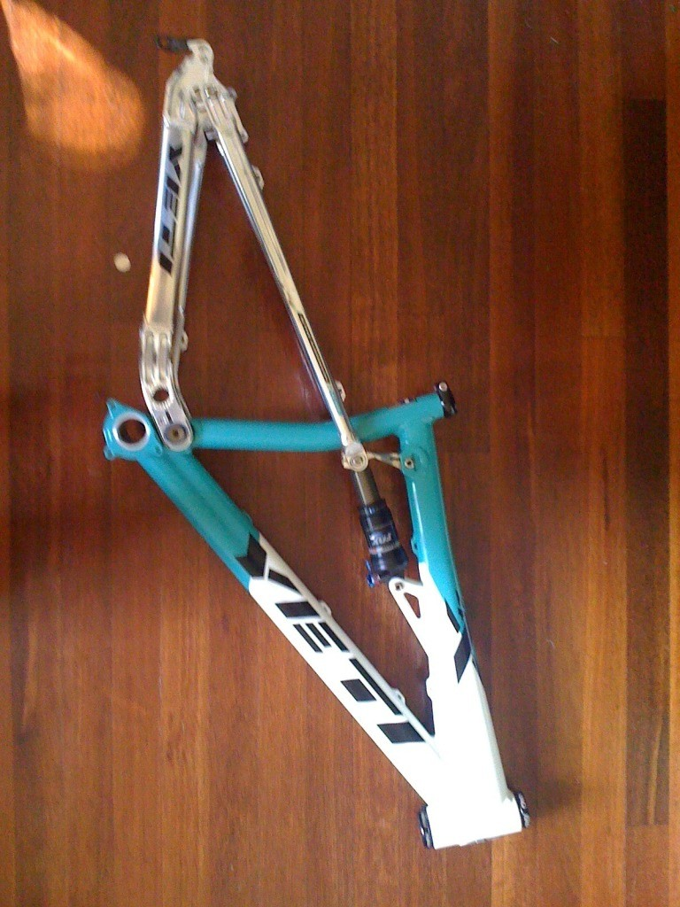 Yeti 4X Frame 2009 + King Headset | YETIFAN.com FORUM