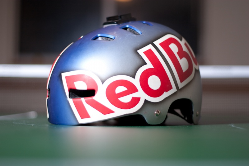 aaron chase red bull tsg helmet buy sell mountain. Black Bedroom Furniture Sets. Home Design Ideas